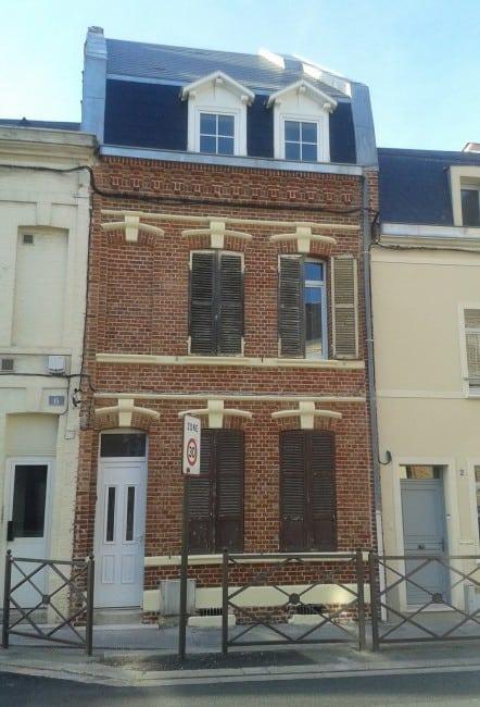 Ravalement de facade refection de la toiture d\'une maison d\'amiens ...