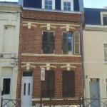 Ravalement de facade refection de la toiture d'une maison d'amiens
