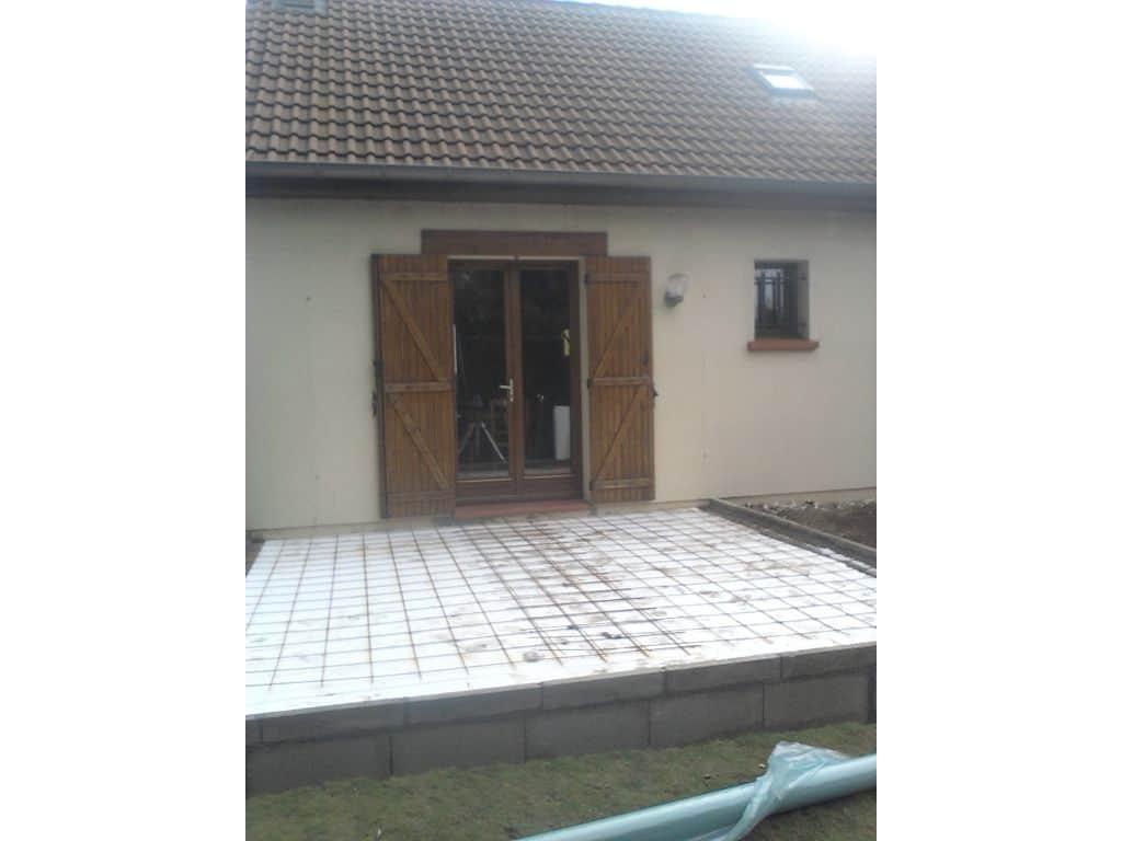 Construction d 39 une extension de maison amiens ocordo for Enlever l humidite d une maison