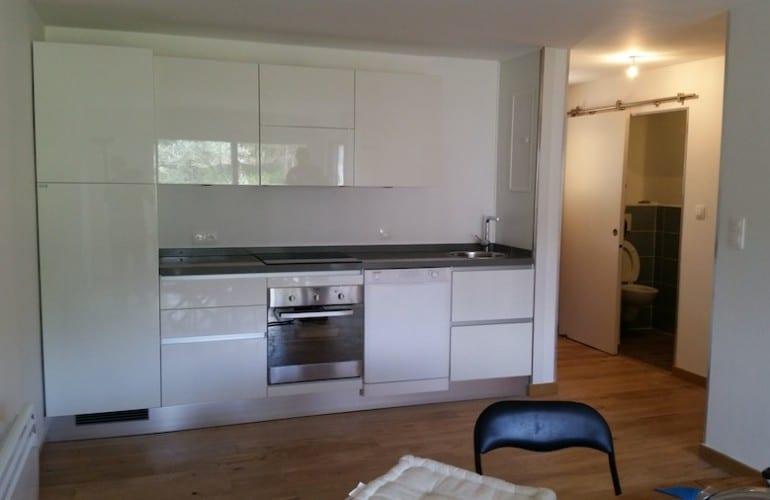 cuisine rénovée dans un appartement à Amiens 770x500