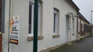Rénovation complète de cette maison à Villers Bretonneux