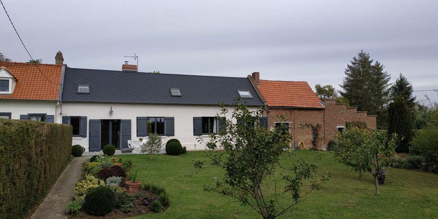 Travaux de rénovation et d'amenagement de combles d'une maison à Amiens