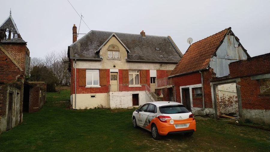 Estimatif travaux de rénovation d'un corps de ferme à Miraumont