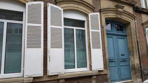 Rénovation complète d'une cuisine à Amiens (électricité, plomberie, carrelage, menuiseries, isolation, placo)