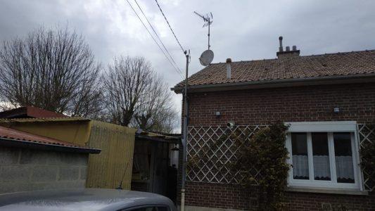 Travaux de surélévation et d'agrandissement dans cette maison à Cagny