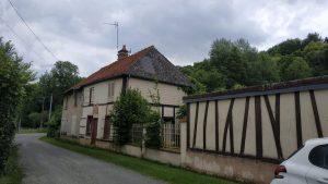 Travaux de rénovation complète de cette maison à Poix de Picardie, près d'Amiens